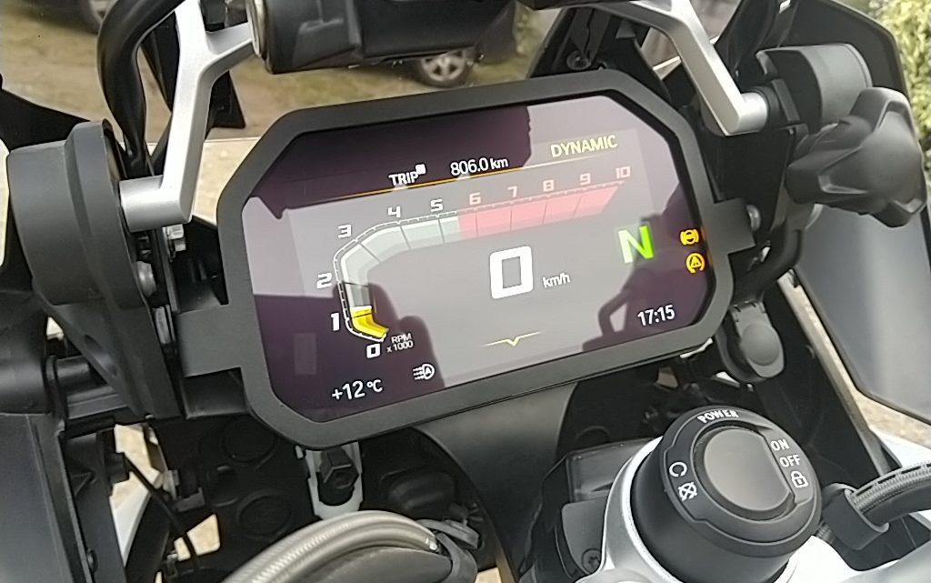 Protection antivol d'écran TFT BMW R 1200/1250 GS et GSA version simple