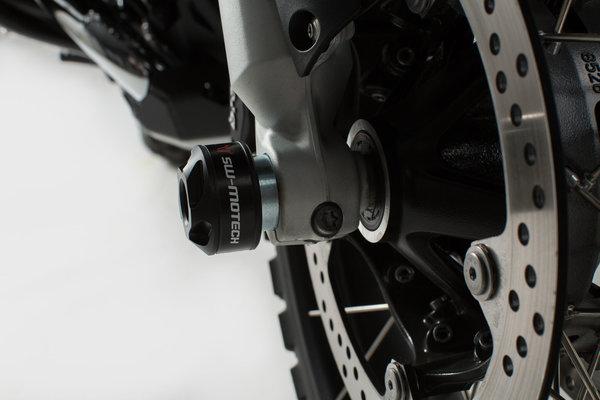 Roulettes de protection de fourche SW Motech BMW R 1200/1250 GS et GSA (K50,K51) .