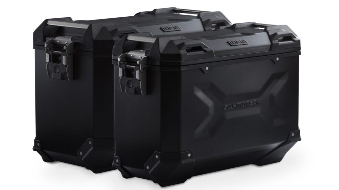 Kit valises TRAX ADV Yamaha Ténéré 700 DM07 (19-20) ( 2x 37 L , coloris noir)