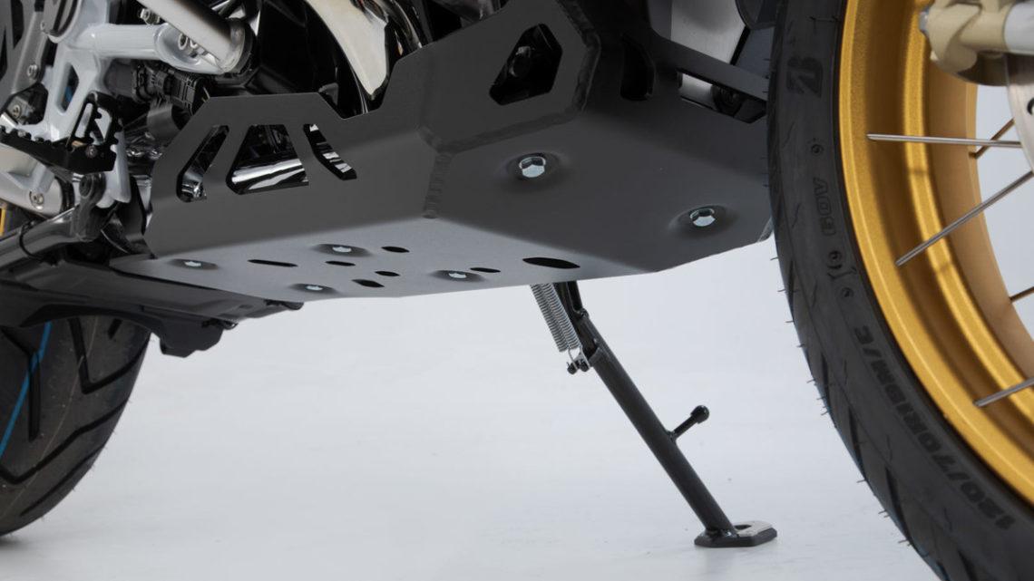 Sabot moteur SW MOTECH  BMW R 1250 GS et GSA  1G13 (K50, K51) (18-21) coloris noir.