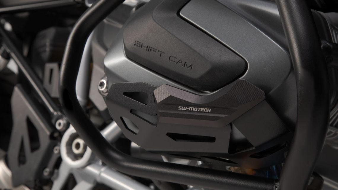 Protection de cylindre BMW R 1250 GS 1G13 (K50) (18-21) coloris noir.