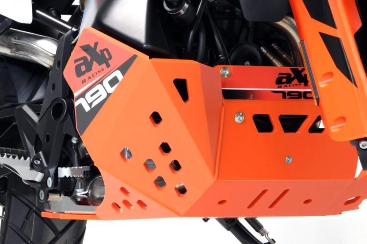 Sabot moteur AXP Racing KTM 790/ 890 Adventure /R coloris orange