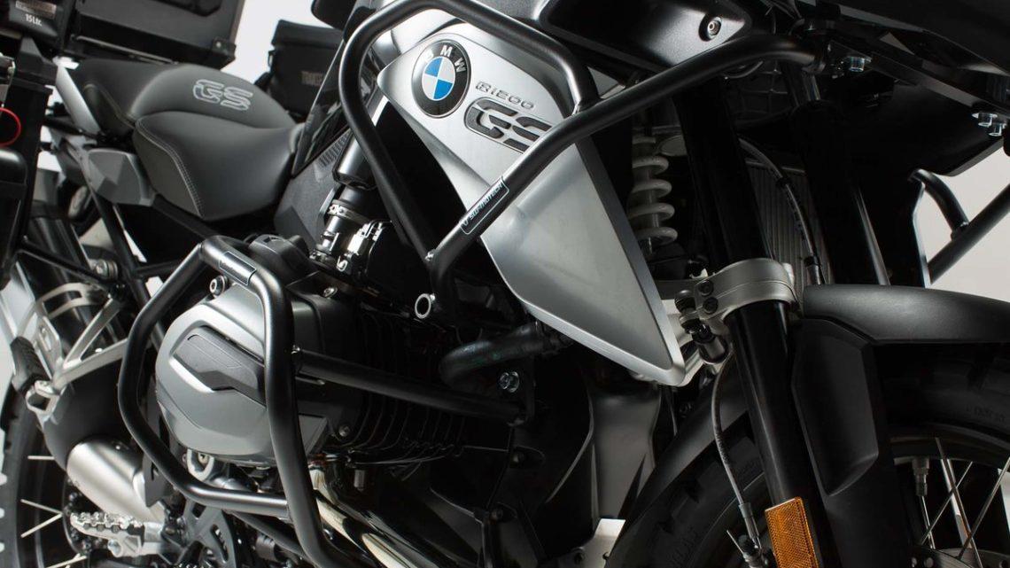 Crashbar haut BMW R 1200 GS LC R12W (K50) (12-16) acier noir.