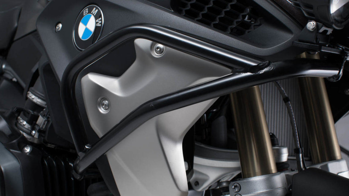 Crashbar haut BMW R 1200 GS LC 1G12 (K50) (16-18). acier noir.