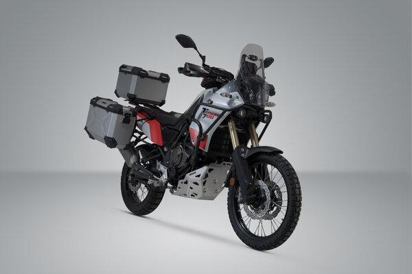 KIT AVENTURE SW MOTECH- Bagagerie Yamaha Ténéré 700 DM 07 ( 19-20) coloris argent.